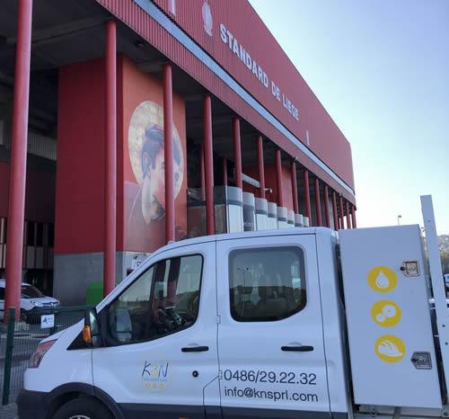 Rénovation Granito béton ciré | création Granito | Liège K&N Maintenance