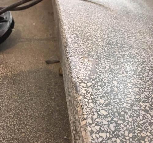 Rénovation Granito béton ciré   création Granito   Liège K&N Maintenance